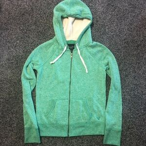 American Eagle Zipup Hoodie Size Small